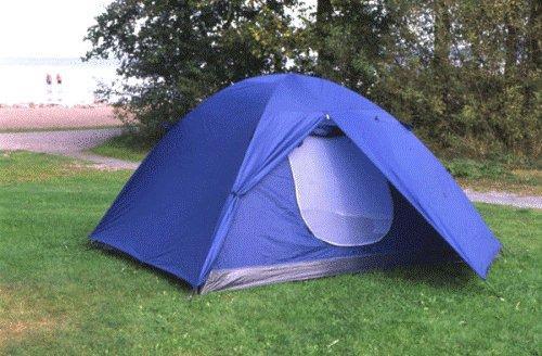 Muskö 4-mans Campingtält Kupol-0